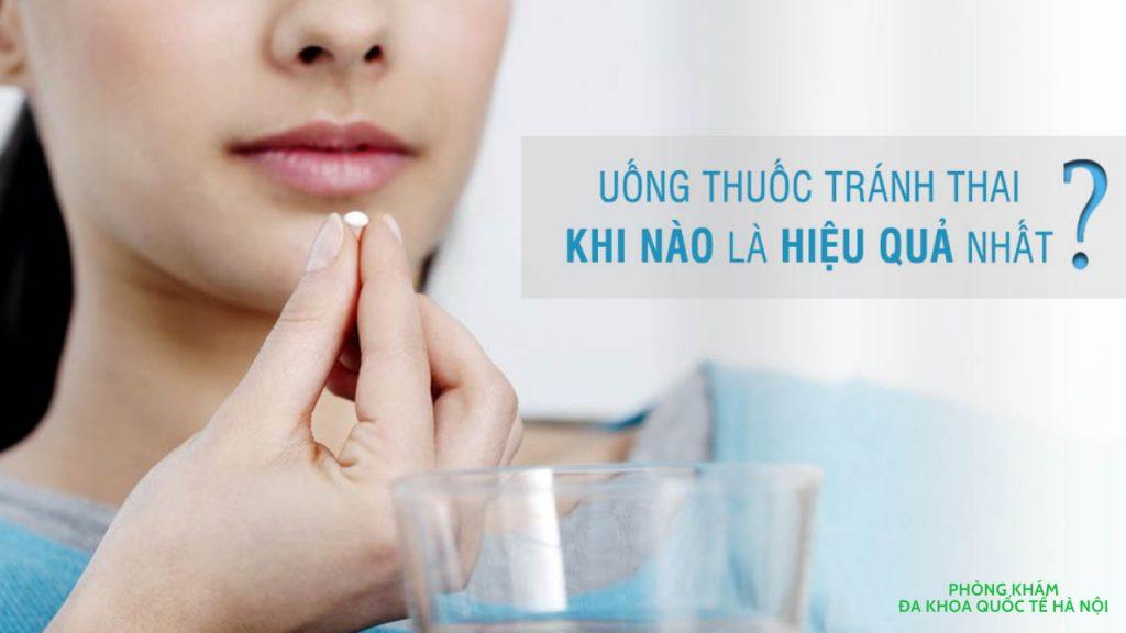 Uống thuốc tránh thai khẩn cấp trước khi quan hệ