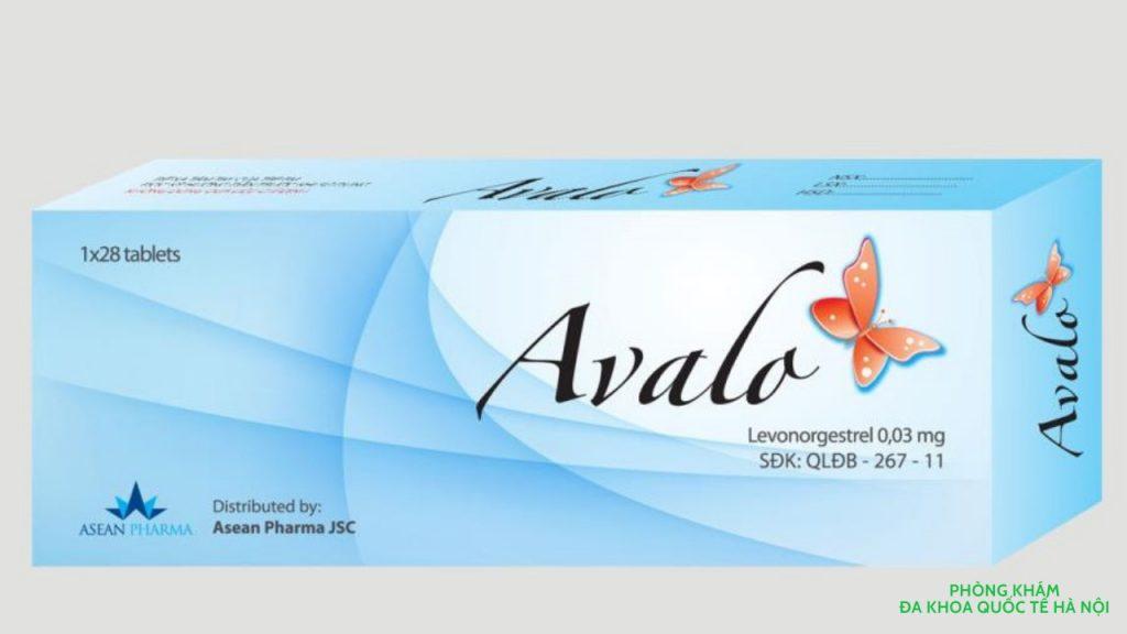 Thuốc tránh thai hàng ngày Avalo
